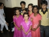 India, Children from the orphanage getting ready to put on a dance performance.