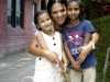 India, At the orphanage with \'my girls\'